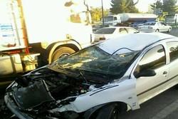 سانحه رانندگی در محلات یک کشته و ۳ مجروح برجای گذاشت
