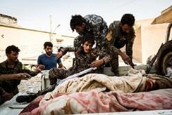 ڕاوی دوایین پاشماوەکانی داعش لە ڕەقەی سووریا