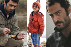 """This combination photo shows scenes from the Iranian movies """"A Man of Integrity"""" (L), """"The Skater"""" (C) and """"No Date, No Signature"""" nominated for the 11th Asia Pacific Screen Awards."""