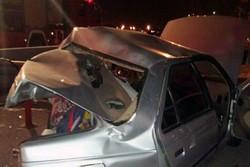 تصادف در آزادراه تهران-قم