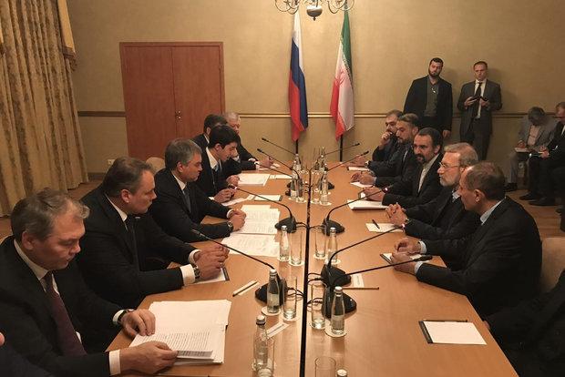 لاریجانی در روسیه