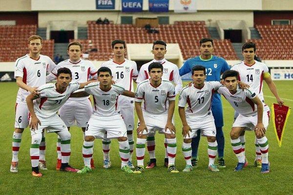 پیروزی تیم فوتبال نوجوانان ایران برابر تیم ملی ناشنوایان