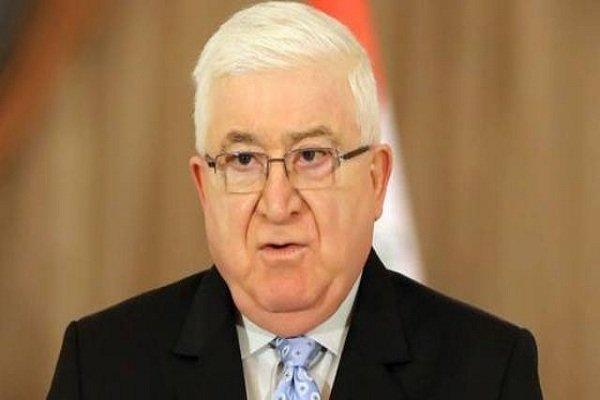 معصوم: نعمل للإسراع بالحوار بين بغداد وأربيل للانتهاء من الأزمة