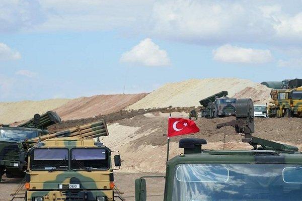 وقوع چند انفجار مهیب در نزدیکی پایگاه ارتش ترکیه در عراق
