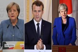 Nükleer anlaşmaya Avrupalı üç liderden ortak destek