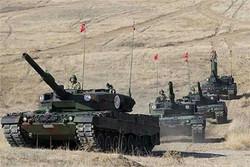 تانک های ارتش ترکیه