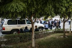 تجمع اعتراضی دانشجویان دانشگاه امیرکبیر در اعتراض به سخنرانی ضد ایرانی رئیس جمهور امریکا