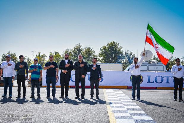 Tahran'daki Ralli Yarışı'ndan kareler