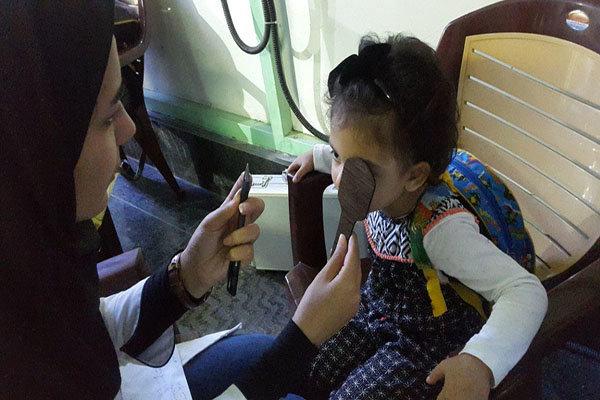 شناسایی ۱۸هزار کودک مبتلا به تنبلی چشم/اجرای طرح غربالگری آبان