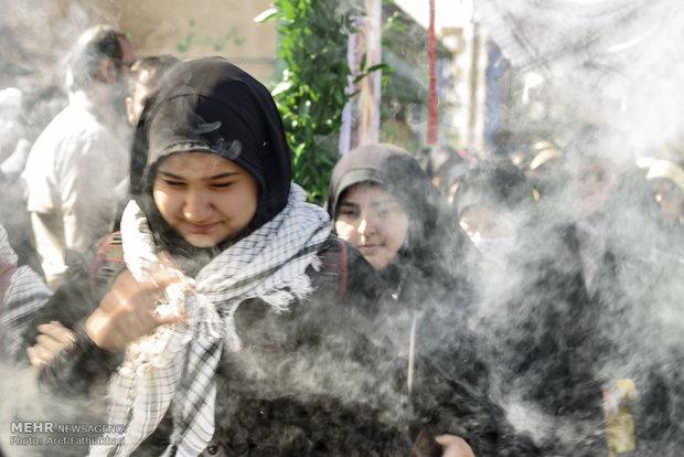 مراسم اعزام دانش آموزان کشور به اردوی راهیان نور به میزبانی استان البرز