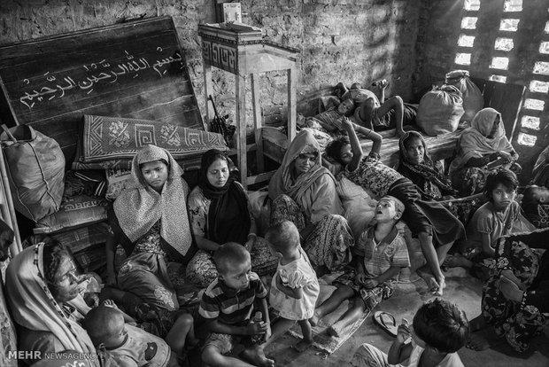 Myanmar Müslümanlarının acılı fotoğrafları