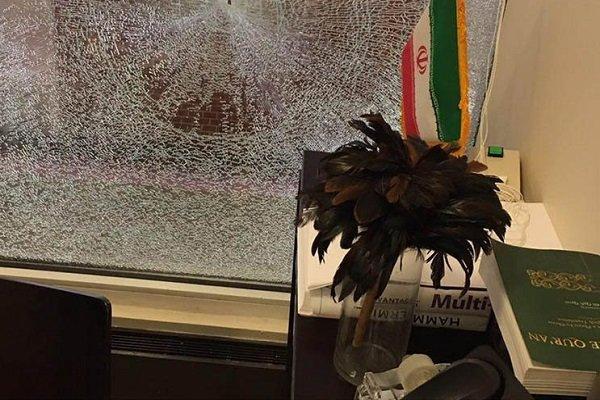 اعتداء على مكتب رعاية المصالح الإيرانية في واشنطن