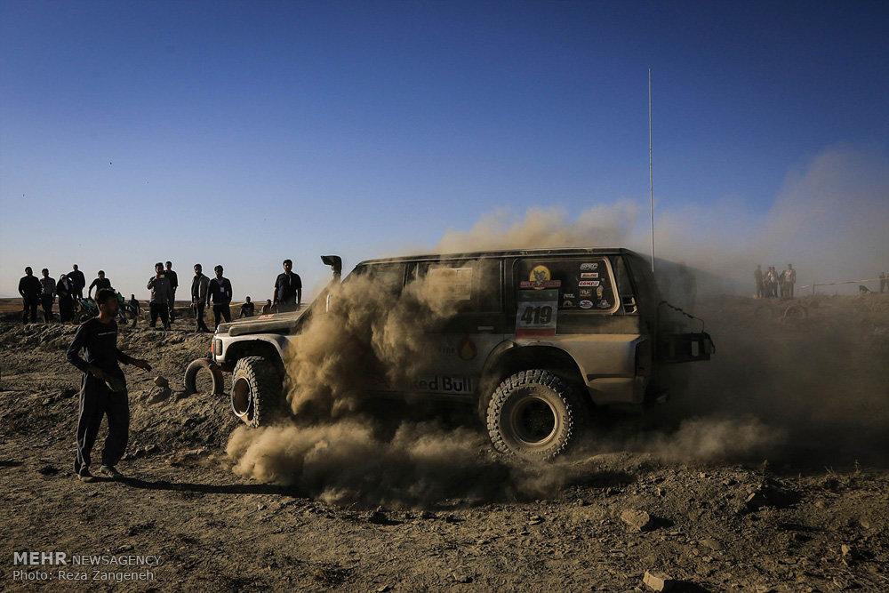 راند دوم مسابقات آفرود قهرمانی کشور در همدان