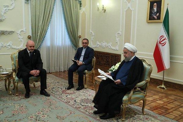 روحاني: سنلتزم بالاتفاق النووي اذا التزمت به الاطراف الاخرى