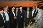 استاندار آذربایجان غربی ازکانون گردوغبار دریاچه ارومیه بازدید کرد