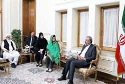 رئيسة مجلس ولاية بلوشستان الباكستانية تلتقي وكيل وزارة الخارجية الايرانية