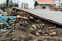وضعیت نامناسب خیابان های شهر رشت