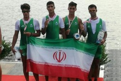 Iran bags four medals at Asian Rowing Junior event
