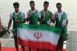 روئینگ جوانان ایران در مسابقات قهرمانی آسیا