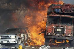 انفجار خودروی بمب گذاری شده در موگادیشو
