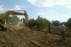 خلع ید اراضی جنگلی از دسترس زمین خواران
