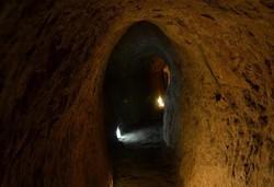 سفر مجازی به شهر زیرزمینی «اویی» در روستای نوش آباد آران و بیدگل