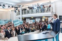 سباسٹین کرز کا آسٹریا کے عام انتخابات میں اپنی جیت کا اعلان