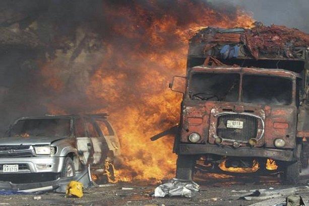 Massive blast kills over 180 in Somalia