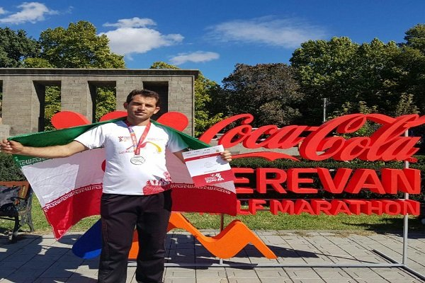 İranlı milli sporcudan yarı maratonda büyük başarı