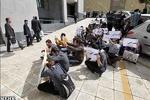 دانشجویان دکتری مقابل وزارت علوم تجمع کردند