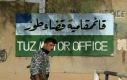 القوات العراقية تسيطر على قضاء طوزخرماتو