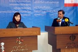 نشست خبری آخوندی و وزیر کره جنوبی