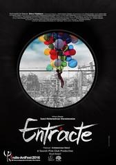 "A poster for Iranian filmmaker Mohammadreza Kheradmandan's animated movie ""Entr'acte"""