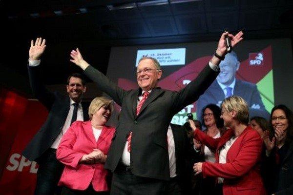 سوسیال دموکرات ها پیروز انتخابات ایالت نیدرزاکسن آلمان