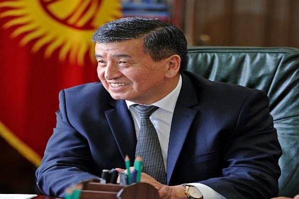 «ژئنبیک اف» رئیس جمهور قرقیزستان شد