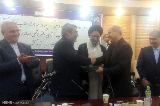 «سید مناف هاشمی» فعالیت خود را در استانداری گلستان آغاز کرد