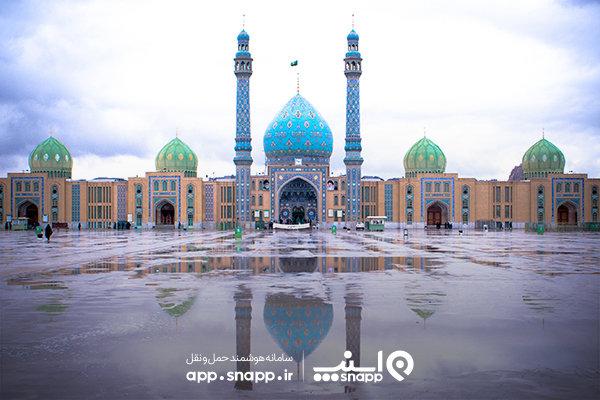 İran'ın dini başkentinde modern ulaştırma uygulaması