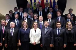 نشست وزاری خارجه اتحادیه اروپا