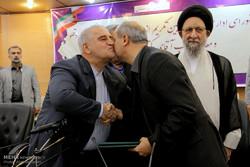 آیین معارفه استاندار جدید گلستان