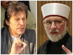 قادری ، عمران خان پاکستان