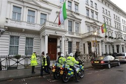 UK police arrest assailants on Iran embassy