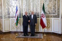 دیدار وزرای امور خارجه ایران و ازبکستان