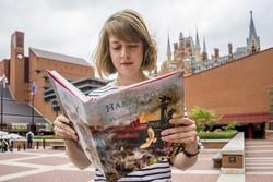 هری پاتر در کتابخانه بریتیش رکورد شکست