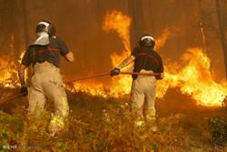 آتش سوزی در پرتغال و اسپانیا