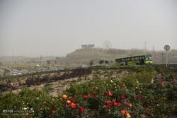 گردوخاک مناطق مرکزی اصفهان تا یزد را در برمیگیرد/ روندکاهشی دما