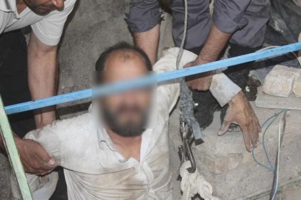 دستگیری حفاران غیر مجاز
