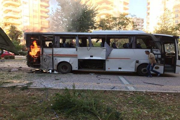 انفجار در مرسین ترکیه