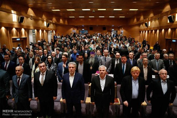 افتتاح المعرض الايراني الأرمني المشترك للقى الأثرية