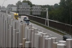 این مانع صوتی اوریگامی سروصدای جاده را کم می کند
