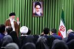 استقبال قائد الثورة الإسلامية النخب العلمية/ صور